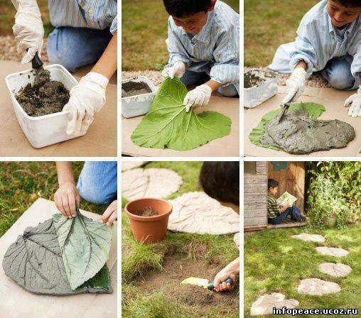 Интерьер сада своими руками